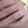 Alliance femme en diamants