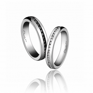 Wedding ring duo man and woman