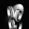 Wedding rings duo for men and women