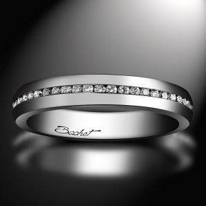 Platinum wedding ring for women