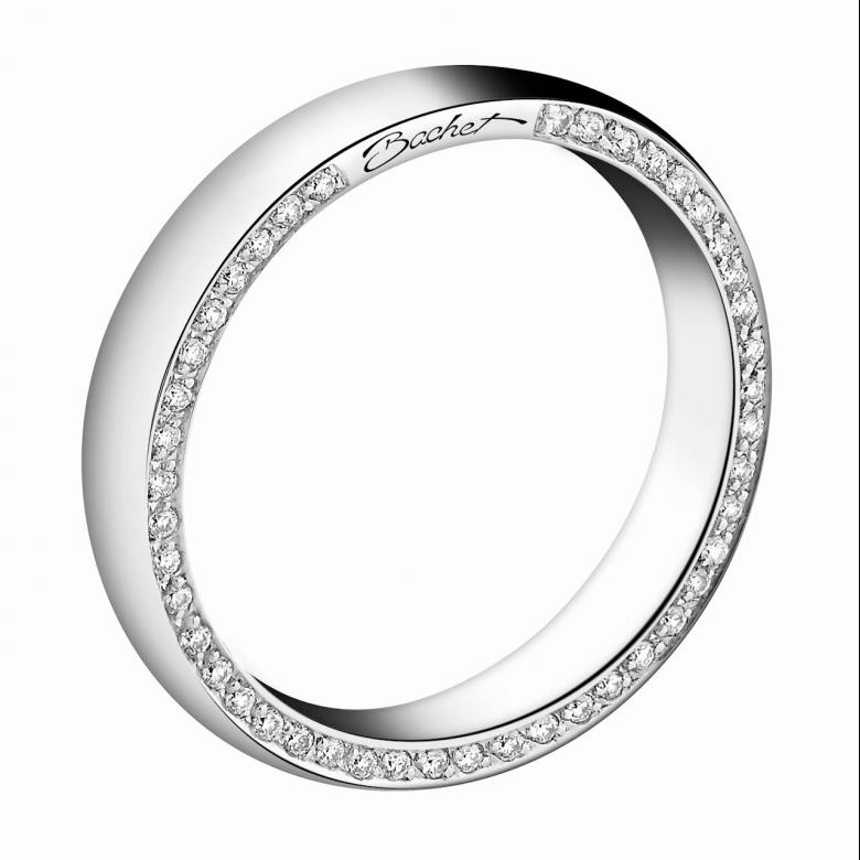 Modern wedding ring for women