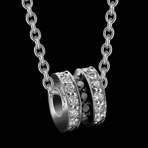 Women's pendant Scroll in Love large model