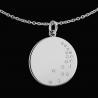 Médaille femme Cascade