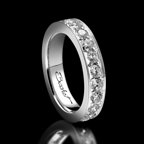 Women's wedding ring Light of Love (0.06 carat)
