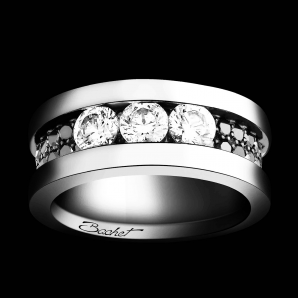 Women's ring Trilogy large + model