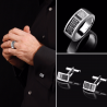 French jewelry maker D.Bachet created fine jewelry for men